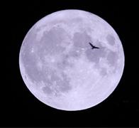 68年来最大月亮特写