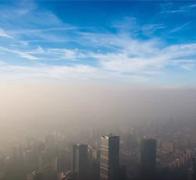 北京422米高空俯看霾