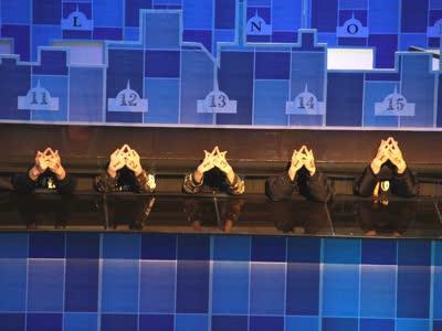 二十个Fingertut同台表演