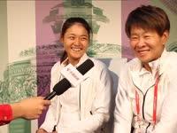 乐视网球专访王雅繁梁辰 机会球把握或成输球原因