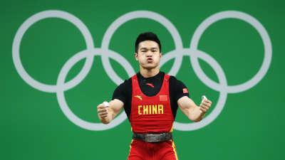 石智勇豪取中国第八金 总成绩352公斤碾压对手