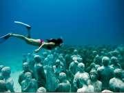 墨西哥水下博物馆(Le musée sous-marin - Mexique 360@)