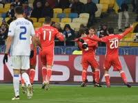 欧冠-阿根廷妖锋点射门神扑点 本菲卡1-0基辅迪纳摩