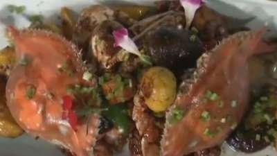 香栗鸡炆蟹