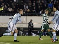 欧联-瑞典锋霸破门智利飞翼点射 塞尔塔2-0出线