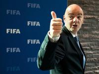 因凡蒂诺力挺世界杯扩军 国足再晋级获只需10年