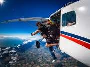 体验极限运动-高空跳伞