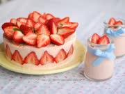 你看起来很好吃 超美味的草莓芝士冻