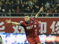 中甲-博季诺夫传射建功 梅州2-1爆冷击败卓尔