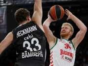 欧篮-巴丁格拉金各17分 布鲁斯篮子71-96巴斯克尼亚