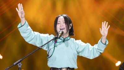 斯琴格日乐唱响高山族情歌