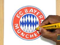 外国达人教您画拜仁慕尼黑队徽