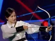 《来吧冠军》20170618:宋茜上演尴尬版一箭三雕 冠军队秀百步穿杨绝技