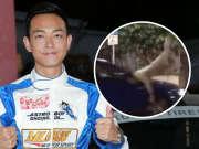 TVB演员梁烈唯在拍戏时被汽车撞飞 头部受伤
