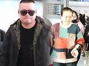 岳云鹏与妻子现身机场 公共场合竟做这事