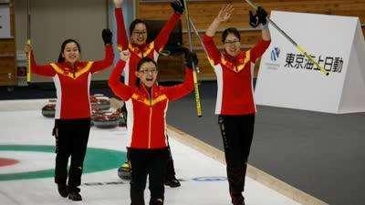 亚冬会中国女子冰壶首次夺冠 决赛12-5复仇韩国