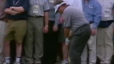 总统杯时刻-1998年克拉格佩里击败老虎伍兹