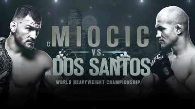 UFC211米奥西齐VS桑托斯 年度最大最棒的格斗盛宴