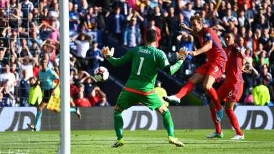 世预赛-张伯伦破门凯恩补时救主 英格兰2-2险平