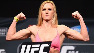 UFC前女子冠军霍尔姆专访 希望中国女选手放手去拼