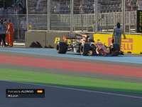 本田引擎魔咒!赛车又遇引擎故障 阿隆索气愤扔头枕