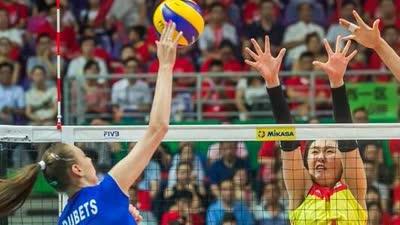女排大奖赛中国1-3负俄罗斯 朱婷难救场香港站首败