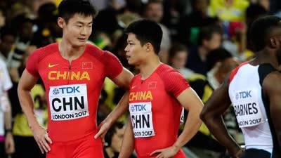 田径世锦赛男子4x100决:中国放弃申诉 意外没办法