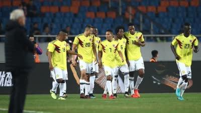 【进球GIF】巴卡推射破门 中国0-2落后哥伦比亚 