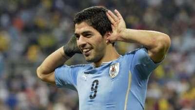 调整状态!苏亚雷斯造12球助乌拉圭高居南美第二