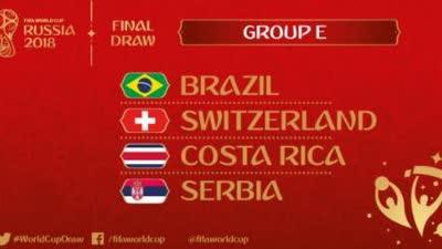 这分组眼熟!巴西遇上届最大黑马 可惜这次没国足