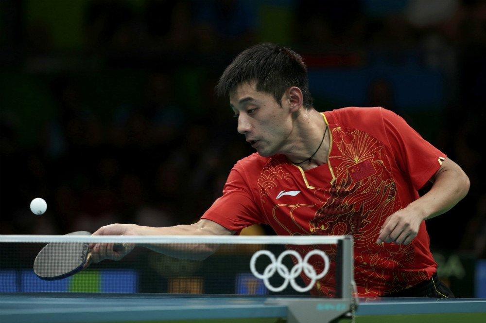 乒乓球男单1/4v张继张继科4-1丹羽孝希进四强可以的时候跳伞带隐形眼镜吗图片