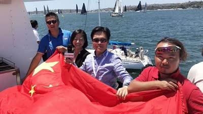 悉尼再见 霍巴特你好|起航11小时 中国船队领先