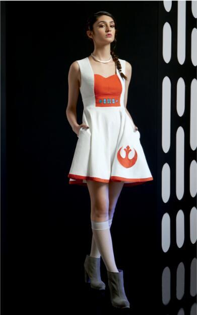 星战连衣裙设计