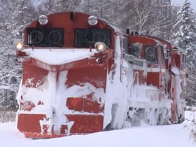 日本除雪火车DE15