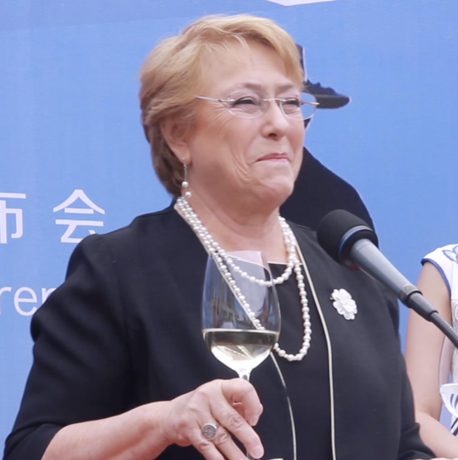 智利总统用智利葡萄酒开启中国之旅