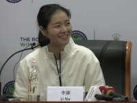 李娜出席温网发布会  分享当年参赛囧事