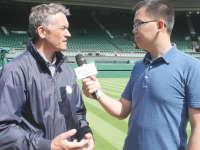 温网草地是什么味道的 乐视网球专访草地管理员