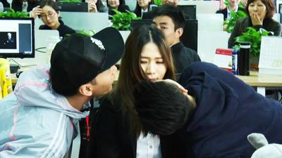 郑元畅强吻女职员 污力非凡小剧场