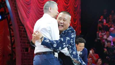 冯小刚郭德纲篮球斗牛耍赖 世界冠军黄景行搞笑街舞