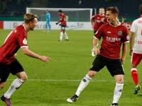 【第2轮】汉诺威6-1杜塞尔多夫 16分钟4球哈尼克双响