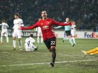 欧联-姆希塔良伊布双双奔袭半场破门 曼联2-0晋级