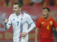 【进球】西于尔兹松贴地箭再下一城 助冰岛2-0锁定胜局