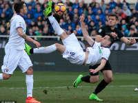 意甲-卡利尼奇倒钩破门被吹 佛罗伦萨0-0亚特兰大
