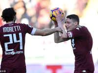 意甲-贝罗蒂8分钟上演帽子戏法 都灵3-1逆转战胜巴勒莫