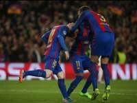 录播:巴塞罗那vs巴黎圣日耳曼(詹俊 张路)16/17赛季欧冠