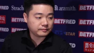 丁俊晖:和大博打球不谈输赢 火箭是我的英雄