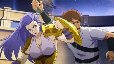 《十万个冷笑话2》爆女神雅典娜片段  拥有完美的身材和超强武力值的战神