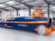 超音速汽车开跑:目标时速1600公里