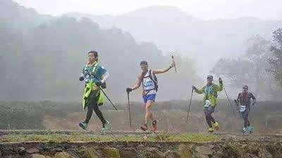 西湖山边玩越野 杭州最虐100公里顺利收官