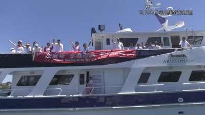 悉尼霍巴特赛冲线纪录被刷新 中国友宝号即将抵达终点